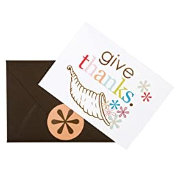 Product Image Erin Condren Thanksgiving Folded Notepack - Set of 12