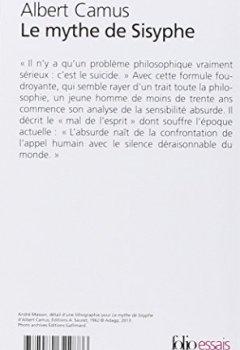 Livres Couvertures de Le mythe de Sisyphe