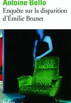 Livres Couvertures de Enquête sur la disparition d'Émilie Brunet