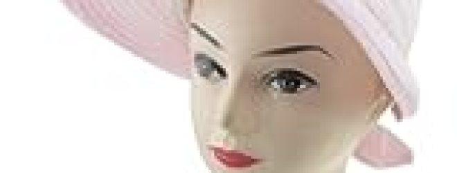 Allegra K Loop Fastener Strap Bowknot Detail Poke Bonnet Lierihattu Hat Pink for Lady