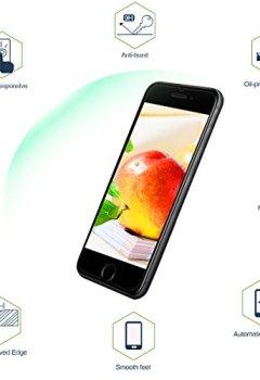 Livres Couvertures de Verre Trempé pour iPhone 7 / iPhone 8, [3 Pièces] Protecteur d'Écran en Verre Trempé, 3D Touch Compatible et Dureté de 9H, Transparent et Clair, Installation Facile Sans Bulles pour iPhone 7 / 8