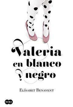 Portada del libro deValeria en blanco y negro (Saga Valeria 3)