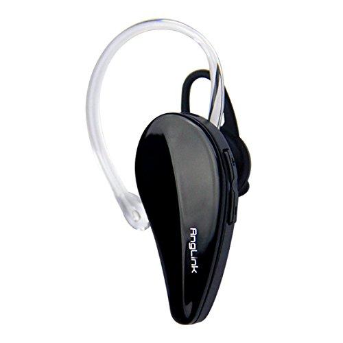 AngLink Bluetooth 4.1 ワイヤレスイヤホン 超小型ヘッドセット 片耳防汗イヤホン 軽量 マイク内蔵 iPhone 5s 6 6Plus Sony対応ブラック