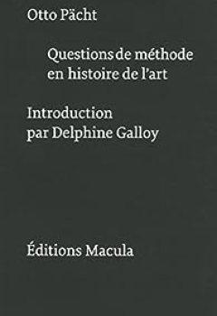 Livres Couvertures de Questions De Méthode En Histoire De L'art
