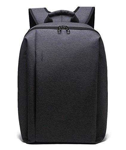 Faston 高品質 デイパック PCバッグ ラップトップバックパック ビジネスバッグ リュック ランドセル 17インチノートとタブレット対応 旅行 通勤 通学 大容量 耐水素材 ブラック T-B3176