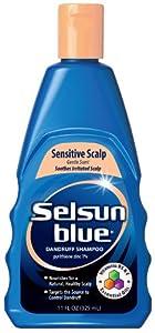 selsun blue sensitive scalp shampoo 11 ounce hair shampoos beauty
