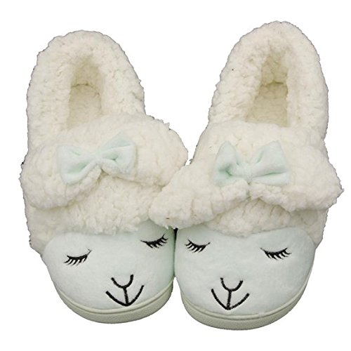 Caramella Bubble Fuzzy Lamb Slippers