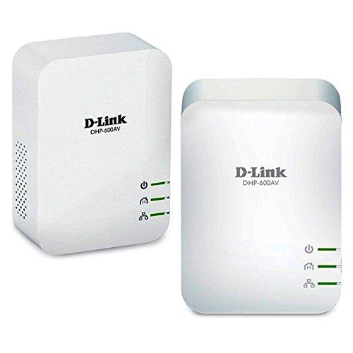 D-Link DHP-601AV Kit PowerLine con 2 Adattatori AV2 1000