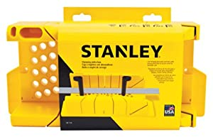 Stanley 20-112 Clamping Miter Box - Miter Saw Accessories - Amazon.com