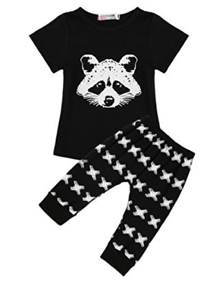 2PCS-Newborn-Infant-Baby-Boys-Girls-T-Shirt-Tops-with-Long-Pants-Outfits-Set