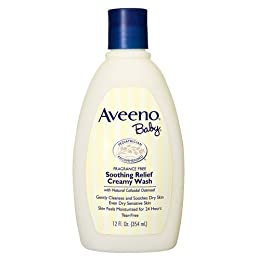 Product Image Aveeno Baby Soothing Relief Creamy Wash - 12 oz.