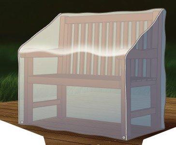 Abdeckung Gartenmöbel Schutzhülle für Bank 160x75x78cm