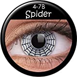 Farbige Kontaktlinsen crazy Kontaktlinsen crazy contact lenses Spider 1 Paar. Mit Linsenbehälter!