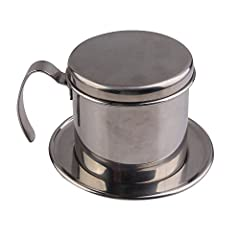 Vakind® High Quality Stainless Steel Metal Vietnamese Coffee Drip Cup Filter Maker Strainer