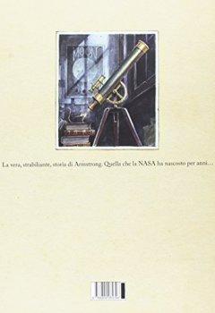 Copertina del libro di Armstrong. L'avventurosa storia del primo topo sulla Luna