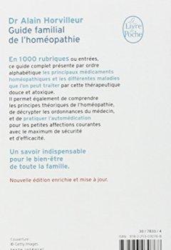 Livres Couvertures de Guide familial de l'homéopathie