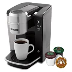 Mr. Coffee BVMC-KG6-001 Single Serve Coffee Brewer Powered by Keurig Brewing Technology, Black