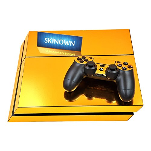 SKINOWN PS4 Skins Golden Skin Gold Sticker Vinly Decal