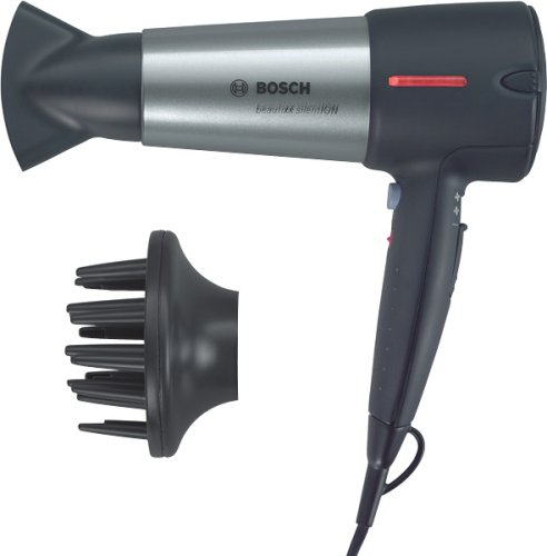 Bosch PHD7960 Haartrockner - beautixx silentION, silber/dunkelgrau