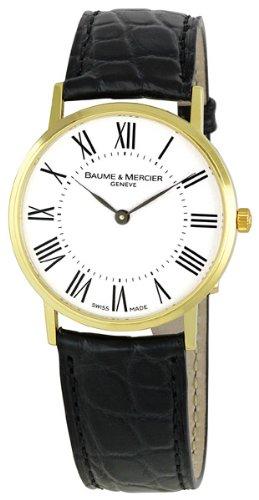 Baume & Mercier Men's 8070 Classima Yellow-Gold Watch