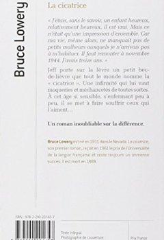 BRUCE TÉLÉCHARGER LA PDF CICATRICE LOWERY