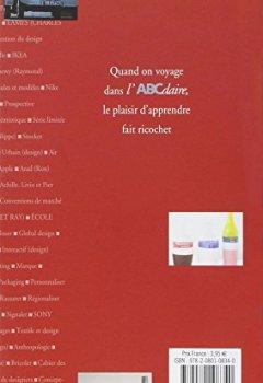 Livres Couvertures de L'ABCdaire du Design