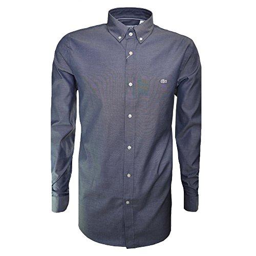 Lacoste Men's Dark Blue Regular Fit Long Sleeve Shirt
