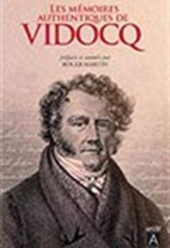 Livres Couvertures de Les mémoires authentiques de Vidocq