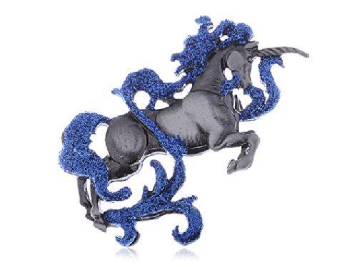 Swarovski-Crystal-Elements-Mythical-Mystical-Creature-Unicorn-Horse-Pin-Brooch