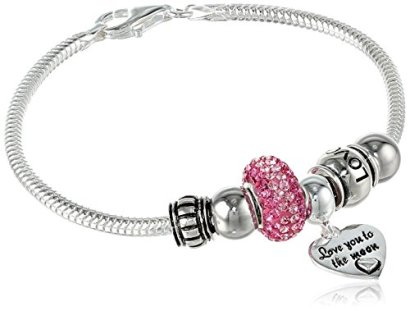 CHARMED-BEADS-Sterling-Silver-Love-You-to-The-Moon-Bead-Bracelet
