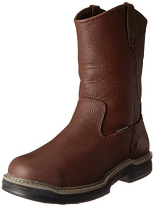 Wolverine Men's Buccaneer W04826 Work Boot,Dark Brown,8.5 XW US
