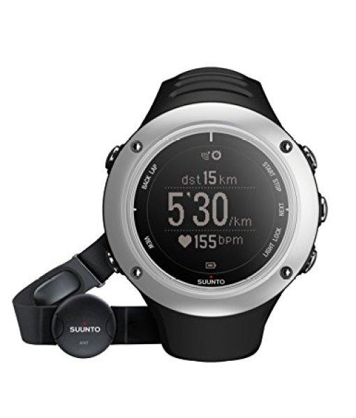 Suunto Ambit2 S Graphite (HR) – Reloj con GPS integrado unisex, color plateado / negro