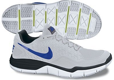 Buy Nike Free Xilla Trainer - Neutral Grey / Varsity Royal-White-Black, 9.5 D US