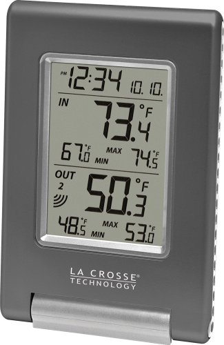 Amazon.com : La Crosse Technology WS-9080U-IT Wireless Temperature Station The weather station we keep in the bedroom, ties into all the same sensors as our larger unit.