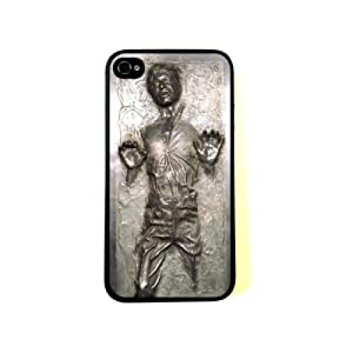 Han Solo frozen in Carbonite cool Star Wars iPhone 4/4s case at amazon