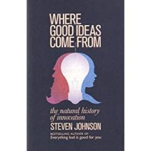 book cover, Where Good Ideas Come From