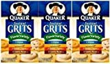 Quaker Instant Grits Flavor Variety, 12-count, Single Pack (pack of 3)