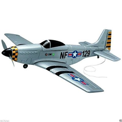 Ship-from-USA-4Ch-Radio-Remote-Control-Airplane-Mustang-P51-Warbird-EP-RC-Airplane-RTF-by-ROSOLO-INC