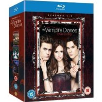 The Vampire Diaries Blu Ray Complete Set Seasons 1-3 (Region Free)