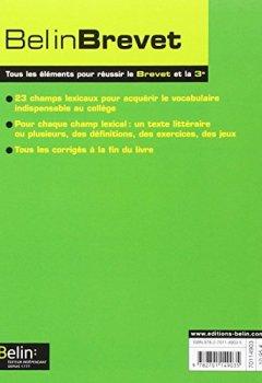 Telecharger Francais 4e 3e 800 Mots Pour Reussir Pdf En