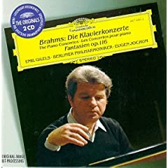 Brahms: Concertos for Piano No. 1 & 2, Fantasia Op. 116