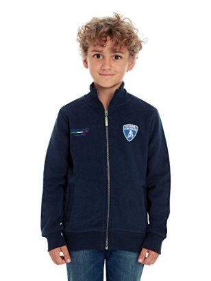 Automobili-Lamborghini-Children-Kids-Lamborghini-Eccellenza-Superiore-Sweatshirt-4-Years-Blue
