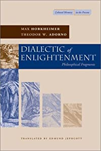 "Cover of ""Dialectic of Enlightenment (Cul..."