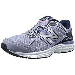 New Balance Women's W560V6 Running Shoe, Purple/Navy, 8.5 D US