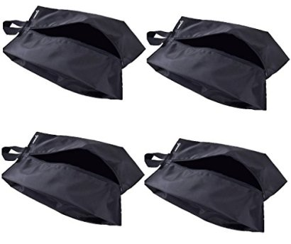 Misslo-Portable-Waterproof-Nylon-Travel-Shoe-Bags-with-Zipper-Closure-4-15-inch