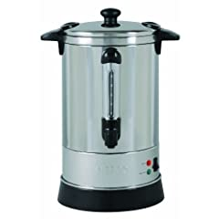 Nesco CU-30 Professional Coffee Urn, 6.8-Liter, Stainless Steel