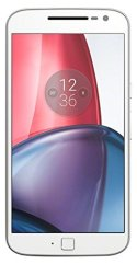 Moto G4 Plus - Smartphone libre Android® 6 (5.5'' Full HD, 4G, cámara de 16 MP, dos GB de RAM, 16 GB, lector de huellas, turbo cargador y Qualcomm Snapdragon 1.5 GHz), color blanco data-recalc-dims=