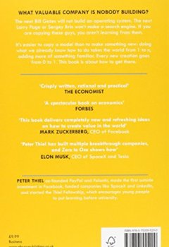 Livres Couvertures de Zero to One: Notes on Start Ups, or How to Build the Future