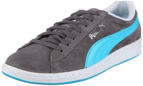 Puma Supersuede Eco Wn's 352635, Damen, Sneaker, Grau (steel grey-blue atoll 04), EU 38 (UK 5) (US 7.5)