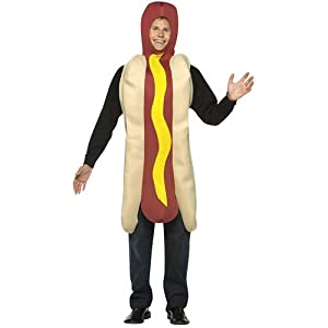 Hot Dog Costume Each Costumes For Halloween Food